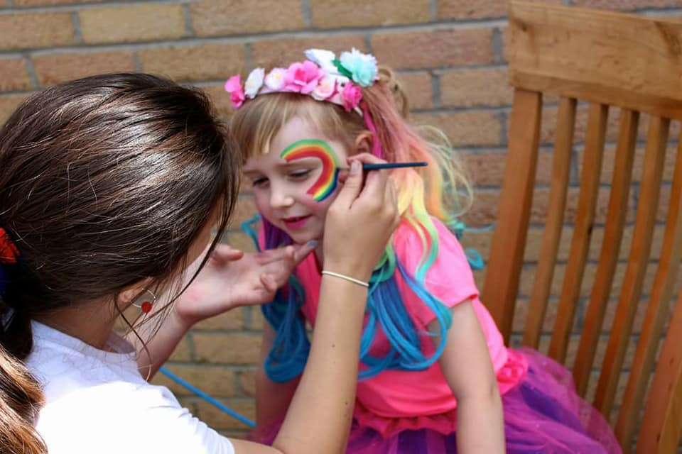 Face Painting Sheffield