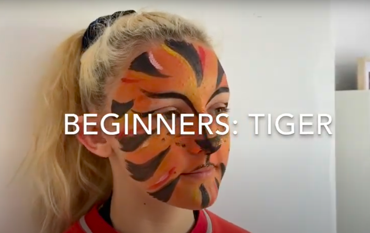 How to do Tiger Face Paint?